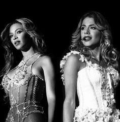 #Beyonce and #TiniStoessel I love this picture!