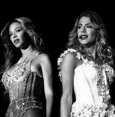 """#Beyonce and #TiniStoessel I love this picture!❤️❤️. Wowww!! Q sueño maravilloso!! Espero q se va a cumplir un dia!!! Y sobre todo lo espero por ella @TiniStoesel q la ama mas q su vida!! Es su idolo! Y tengo pruebas de esto!! Tengo una entrevista en la cual le piden sus idolo sea a Tini sea a Mer y ellas contestan :""""Tini,Beyonce,la amo muchisimo!"""" Y """"Mer,No tengo un idolo en particular,pero me acuerdo q de pequeña siempre veia peliculas de Marilyn"""" P.s. no si he escrito bien el nombre!"""