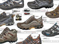 11 Best Shoe design examples images | Designer shoes, Design