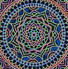 psychedelic mandala - Google Search