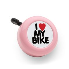 I LOVE MY BIKE BELL (Pink) Electrabike Online Store | Bike Parts and Accessories