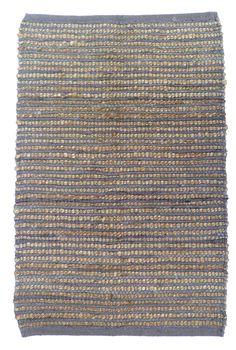 Sand Stripe Mink Area Rug