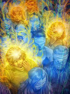 ... HIPNOSIS. Cuando se despierta, se empieza a vivir la vida de una manera totalmente diferente. Aunque tu vida se mantiene igual, ya no eres el mismo. Tu enfoque es diferente, hasta tu estilo es diferente. Vives más conscientemente, no vas a tientas en la oscuridad. Vivir con el corazón y no con la cabeza. Por supuesto, cualquier persona que tenga contacto con la persona será infectada,  el despertar es contagioso. Es como el fuego en el monte: Vas difundiendo!.