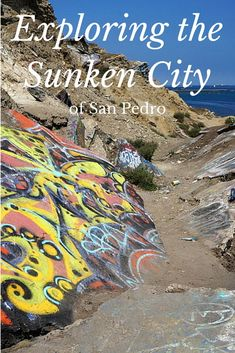 It isn't under water, but it did sink. Or at least the land did. Here's how to see the so-called Sunken City San Pedro California, California Dreamin', California History, Los Angeles Vacation, Los Angeles Travel, Travel Expert, Travel Tips, Sunken City, United States Travel