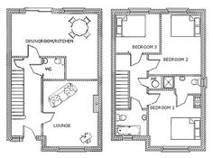 small house floor plans - Google Search