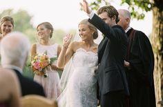 LEGENDS Romona Keveža Bride Janes looks like a happy new wife in Legends style L552 | Eric Kelly Photography