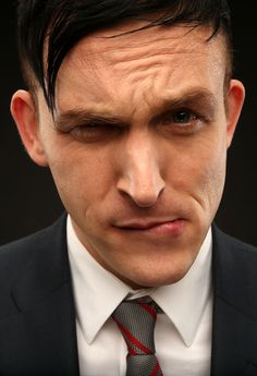 My fav character on Gotham - Oswald Cobblepot (Robin Lord Taylor) he's an amazing actor!
