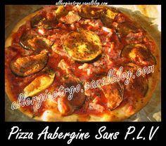 Pizza aubergine/lardons SANS PLV