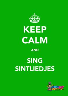 sinterklaas  keep calm poster