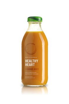Healthy Heart Juice by Matt Ivory, via #Behance #Packaging #Branding
