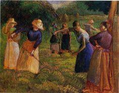 Jacob Camille Pissarro 1830-1903 | French Impressionist