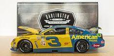 AUSTIN DILLON 2017 DARLINGTON WRANGLER THROWBACK AMERICAN ETHANOL ... American D, Darlington Raceway, Austin Dillon, Classic Race Cars, Dale Earnhardt, Chevrolet Camaro, Nascar, Diecast, Retro