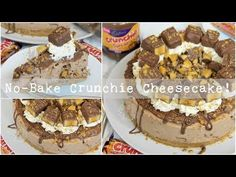 No-Bake Honeycomb Crunchie Cheesecake Recipe Chocolate Orange Cheesecake, Caramel Cheesecake, Most Delicious Recipe Ever, Choc Mousse, Gourmet Recipes, Dessert Recipes, Janes Patisserie, Delicious Desserts, Yummy Food