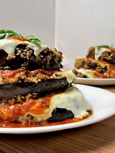 Cooking With Cakes — Eggplant Parmigiana