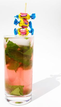 Bubblegum Mojito - OMG! Reckon this tastes the same as the one from Deluxe?? @Caitlin Cartwright