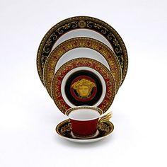 """Rosenthal Meets Versace """"Medusa"""" Dinnerware - Dinnerware - Dining - Categories - Home - Bloomingdale'sRegistry"""