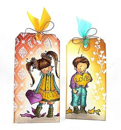 Valentine's Tags by Jill Foster