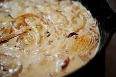 Onion Blue Cheese sauce