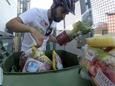 Man dumpster dives 3,000 km across Europe to protest food waste (Video)( it's a shame how much humanity wastes, how sad the earth is raped of such blessings it gives us! Man! N u wonder how come there  GMO's?? Mindless!!!!))