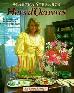 Martha Stewart's Hors D'oeuvres: The Creation and Presentation of Fabulous Finger Food: Martha Stewart: 9780517554555: Amazon.com: Books