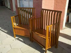 2 Benches from Baby Bed