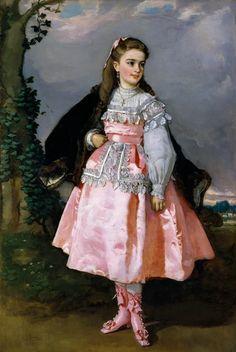 """""""Concepción Serrano, después condesa de Santovenia"""" (1871) de Rosales  https://www.museodelprado.es/coleccion/galeria-on-line/galeria-on-line/obra/concepcion-serrano-futura-condesa-de-santovenia/"""