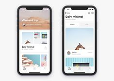 Home and Gallery iPhone X screens Mobile Ui Design, App Ui Design, Interface Design, Flat Design, User Interface, Design Design, Branding Design, Android App, Ios App