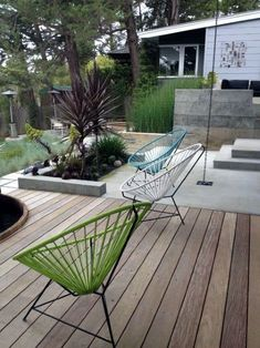 Top 50 Best Modern Deck Ideas - Contemporary Backyard Designs Modern Backyard Design, Modern Deck, Modern Landscape Design, Landscape Architecture, Backyard Designs, Deck Design, Terrace Design, Creative Landscape, Abstract Landscape
