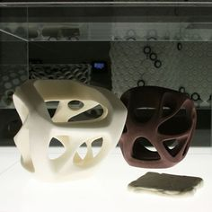 Memories of the Future by Carl de Smet.   high-tech foam furniture that can be squashed to 5% of its original size