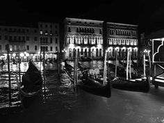 Nachtspaziergang am Canale Grande