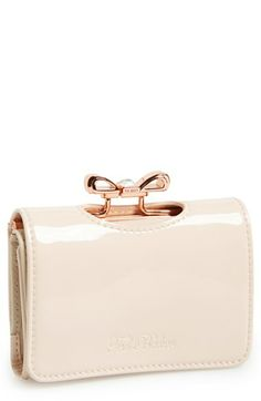 Ted Baker London 'Small' Crystal Bow Wallet available at #Nordstrom