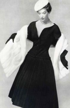1950's Christian Dior vintage dress