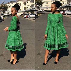 sotho shweshwe dresses for African women - fashion African Inspired Fashion, Latest African Fashion Dresses, African Print Dresses, African Print Fashion, Africa Fashion, African Dress, African Prints, Ankara Fashion, African Fabric