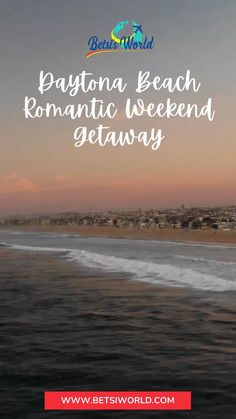 If you're a fan of sun, surf, sand, and fun, a Daytona Beach romantic getaway is perfect! Home of the Daytona 500, this coastal town is ideal for fun-loving couples. //vacation ideas//couple getaway ideas//romantic places to travel//couples getaway//romantic weekend getaways//beach date// #trip #travel #romantic Dayton Beach, Couples Vacation, Vacation Ideas, Beach Romance, Florida East Coast, Beach Date, Romantic Weekend Getaways, Romantic Picnics, Romantic Places