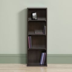 Media Storage Tower CD DVD Rack Cabinet Adjustable Shelves Multimedia  Organizer #Sauder #Modern Media