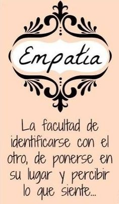 Empatia, faculdade de identificar-se com o outro, de colocar-se no seu lugar! Some Quotes, Words Quotes, Wise Words, Sayings, Favorite Quotes, Best Quotes, Popular Quotes, Quotes En Espanol, Frases Humor