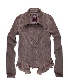 jaqueta de veludo <3