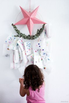 Adventskalender oder Ramadankalender für Kinder Easy Christmas Crafts, Simple Christmas, Christmas Eve, Christmas Decorations, Xmas, Advent Calenders, Diy Advent Calendar, Countdown Calendar, Diy Weihnachten