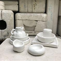 Minka, Sugar Bowl, Bowl Set, Plates, Tableware, Ceramic Workshop, Gypsum, Clay, Licence Plates