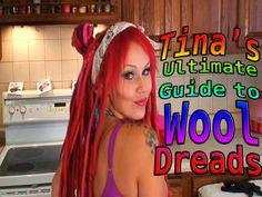 Tina Tiainen's Ultimate Guide to Wool Dread Extensions PART ONE How to make dreads from Wool Roving with the Stove-Top Boiling method