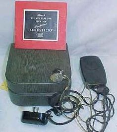 antique hearing instruments