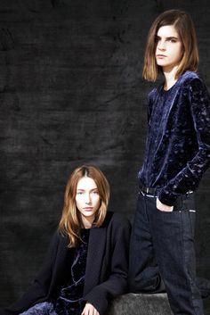 The Row Pre-Fall 2012 Fashion Show - Alana Zimmer and Kel Markey