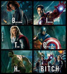 Makes sense! Funny Marvel Memes, Marvel Jokes, Dc Memes, Avengers Memes, Stupid Funny Memes, Funny Relatable Memes, Funny Stuff, 9gag Funny, Funny Shit