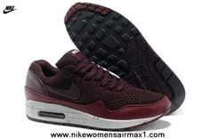 Cheap 2013 Nike Air Max 87 Womens Shoes Wine For Sale