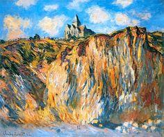 Claude Monet - Church at Varengeville 1882