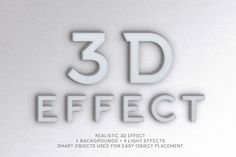3D Effect by ZeStudio on @creativemarket