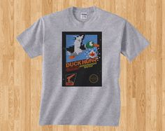 Game Snapshot Nintendo Duck Hunt Retro Gamer Gaming Shooter Gameboy NES Classic 8 bit Tee Tshirt T-Shirt
