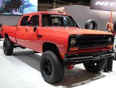 Lifted double cab 1st gen Ram Dodge Cummins, 1st Gen Cummins, Lifted Dodge, Dodge Trucks, Dodge Pickup, Pickup Trucks, Lifted Trucks, Dodge 300, Cool Trucks