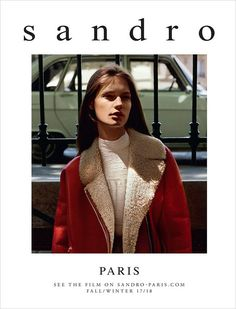 Faretta and Luc Defont-Saviard Model Sandro Fall Winter 2017.18 Collection