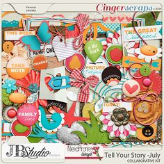 Tell Your Story- July by JB Studio and Neia Arantes (w/FWP)